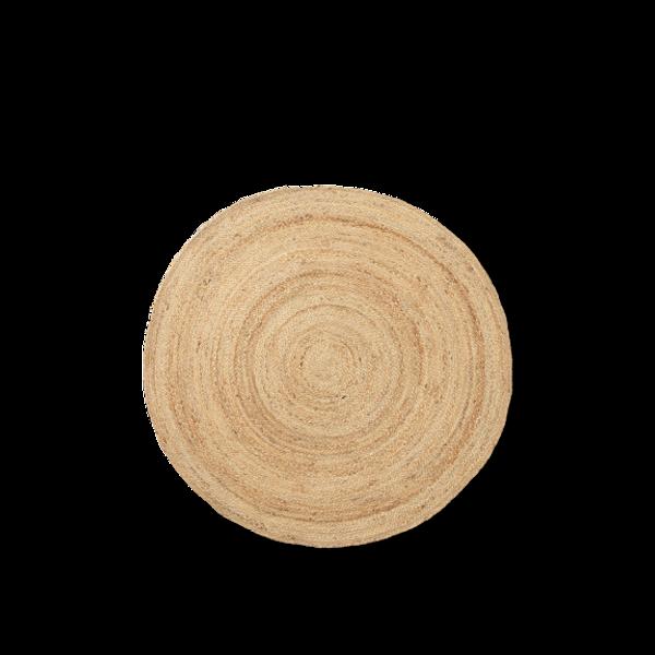 Bilde av Eternal Jute Rug Round Small- Natural ø120cm