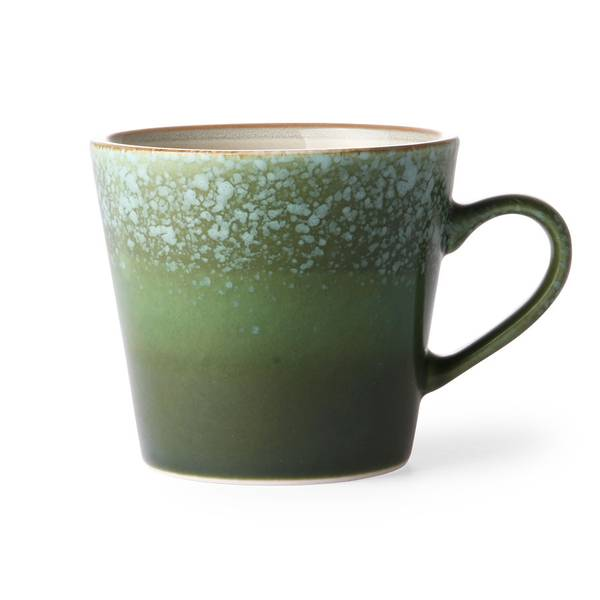 Bilde av HK Living 70´s cappuccino mug, grass