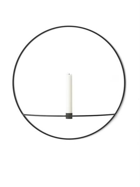 Bilde av Menu POV circle candleholder - L, black
