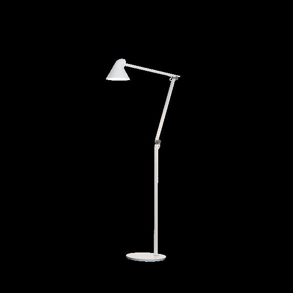 Bilde av Louis Poulsen NJP gulvlampe hvit