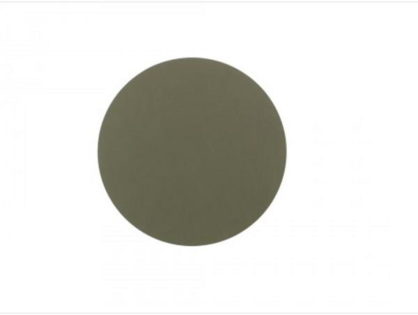 Bilde av glass mat circle 10cm nupo army green