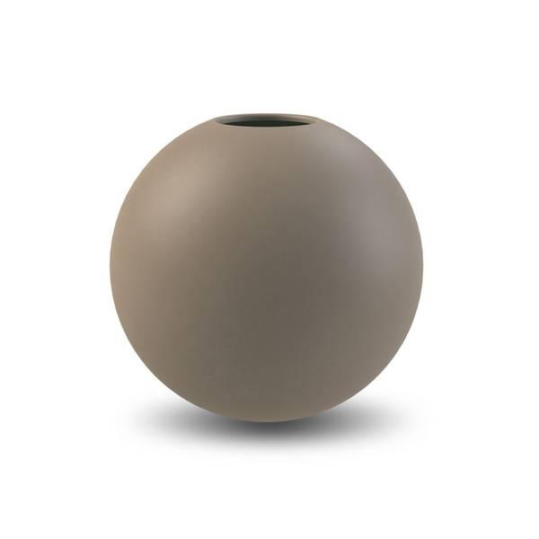 Bilde av Cooee ball vase 20cm, mud