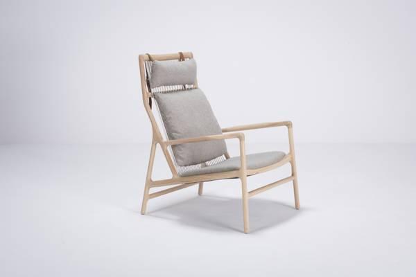 Bilde av Gazzda Dedo lounge chair, main line flax stoff