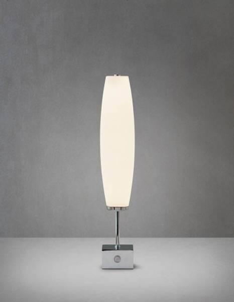 Bilde av Micro Zenta bord krom/hvit LED