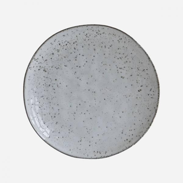 Bilde av House Doctor Rustikk grå/blå tallerken - 20,5cm