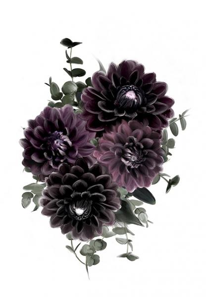 Bilde av Purple 30x40cm
