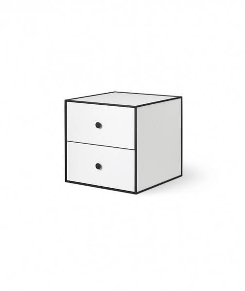 Bilde av By Lassen Frame 35, 2 drawers hvit