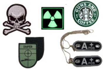 Patch & Dog Tags