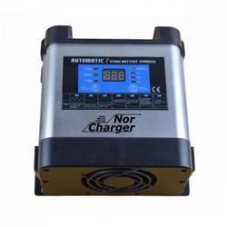 NOR CHARGER Pro Serie Elektronisk Batterilader 12V 20A 2-kanaler