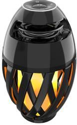 Flammelampe LED m/bluetooth høyttaler