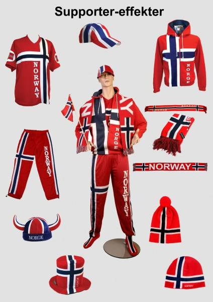 Heia Norge Support T-skjorte Voksen