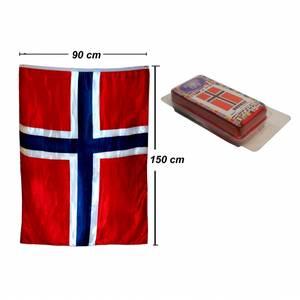 Bilde av Heia Norge Flagg - 100 x 140
