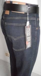 Bilde av Sticks Jeans strech Blå