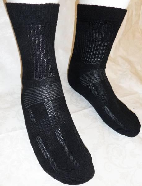 Sport sokk bambus SORT