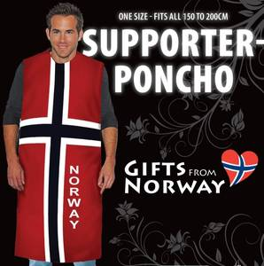 Bilde av Heia Norge Support Poncho