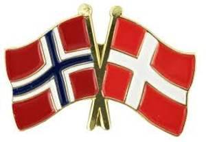 Bilde av Pins Norge-Danmark