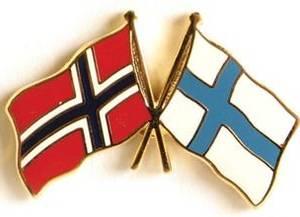Bilde av Pins Norge-Finland