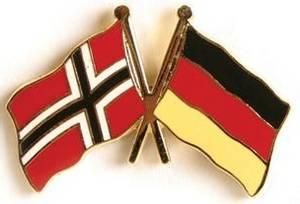 Bilde av Pins Norge-Tyskland