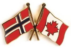 Bilde av Pins Norge-Canada