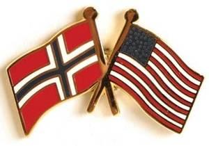 Bilde av Pins Norge-USA