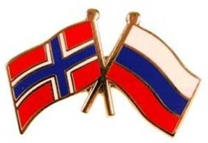 Bilde av Pins Norge-Russland