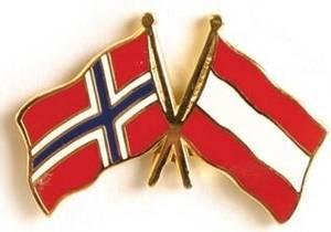 Bilde av Pins Norge-Østerrike