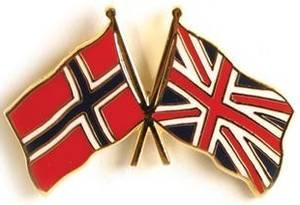 Bilde av Pins Norge-England