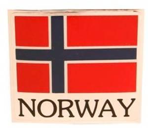 Bilde av Klistremerke NORWAY - folie