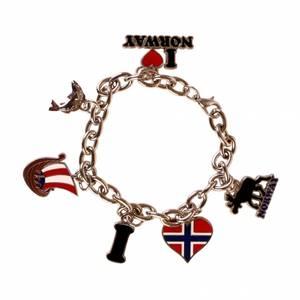 Bilde av Heia Norge Armbånd med anheng