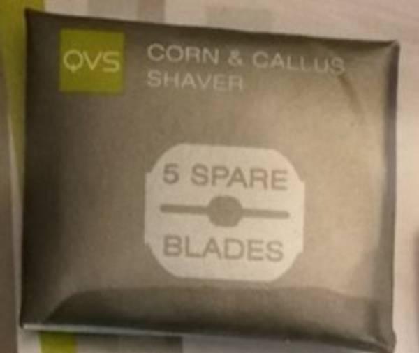 Pedikyr Barberhøvel for hard hud