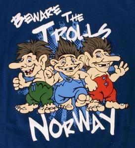 Bilde av T-skjorte Rokk barn Blå