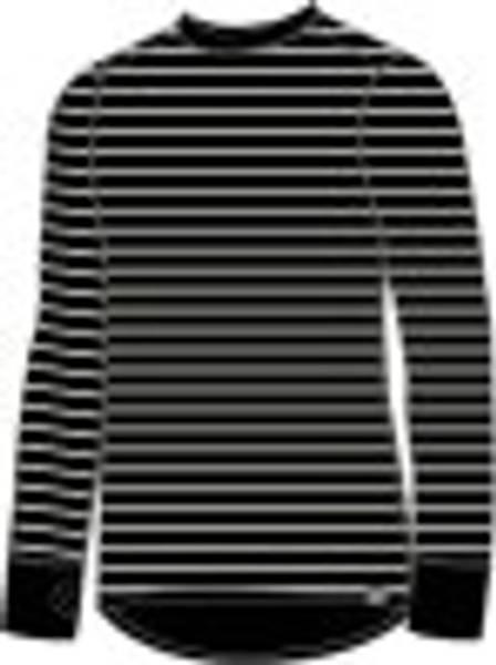 ULL/BAMBUS Herre genser Sort stripet