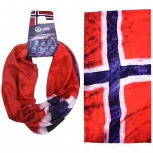 Bilde av Bøff hals Norway Norges flagg
