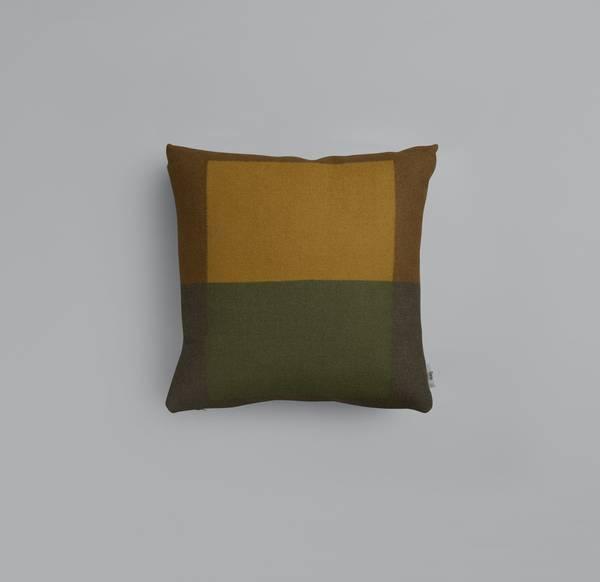 Bilde av Syndin - Grønn/brun pute
