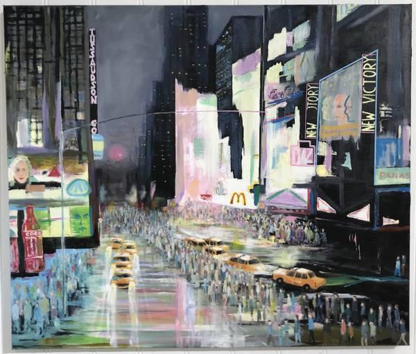 Bilde av Terje Tverfjell - Time Square original