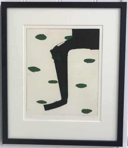 Kjell Nupen - sort og grønn I