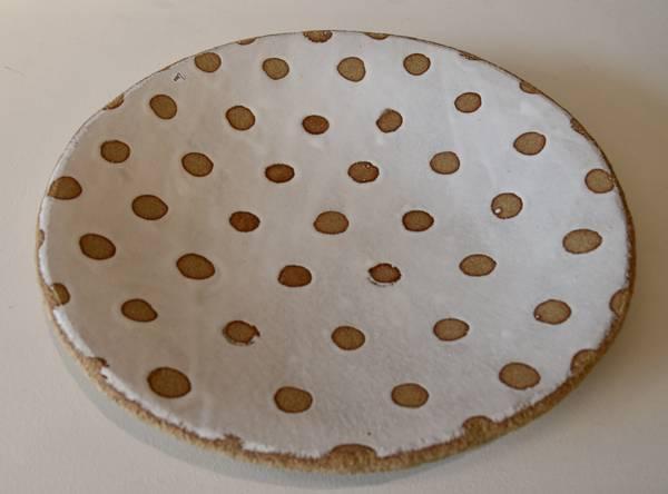 Bilde av Keramikk fat - Hvit