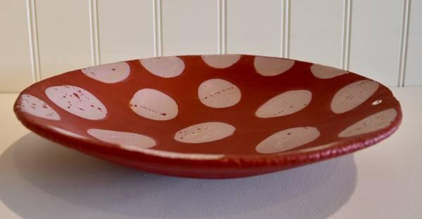 Bilde av Keramikkfat - Rød