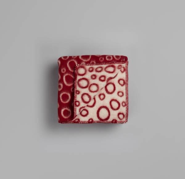 Bilde av Champagnebobler - Rød/Natur