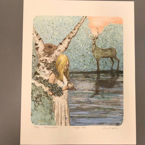 Bilde av Line Schjølberg - Magisk møte