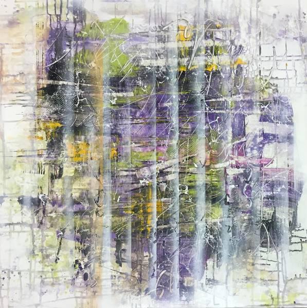 Bilde av Åse Fagervik - Abstrakt lilla