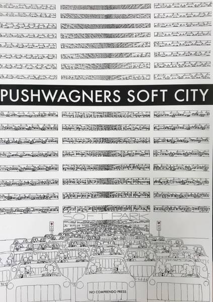 Bilde av Pushwagner - Soft City fargeleggingsbok