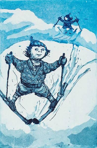Bilde av Kristian Finborud - Barn i bakken