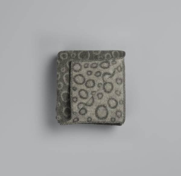 Bilde av Champagnebobler - grå/grå minipledd