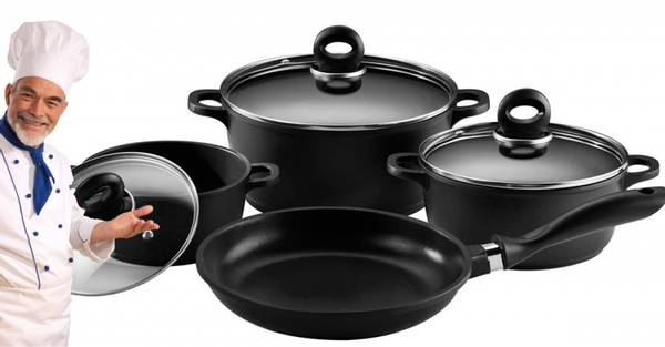 7 delers grytesett Fra Its Cookware