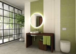 Bilde av ATUM speil m/led lys