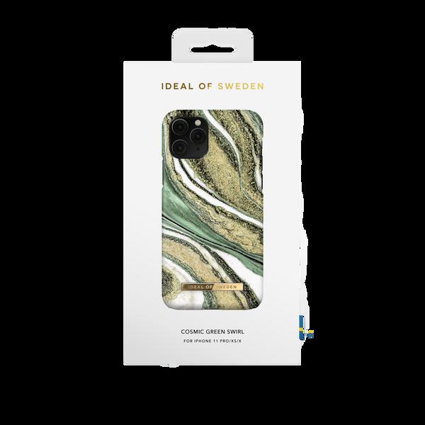 Fashion Case iPhone 11 Pro/XS/X Cosmic Green Swirl