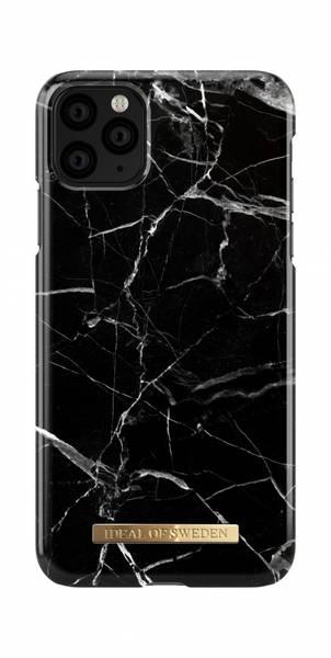Fashion Case Black Marble - iPhone 11 Pro/XS/X