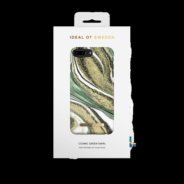 Fashion Case iPhone 8/7/6/6s PLUS Cosmic Green Swirl