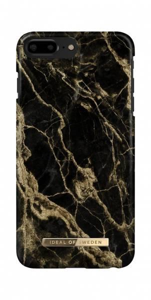 Fashion Case iPhone 8/7/6/6s PLUS Golden Smoke Marble